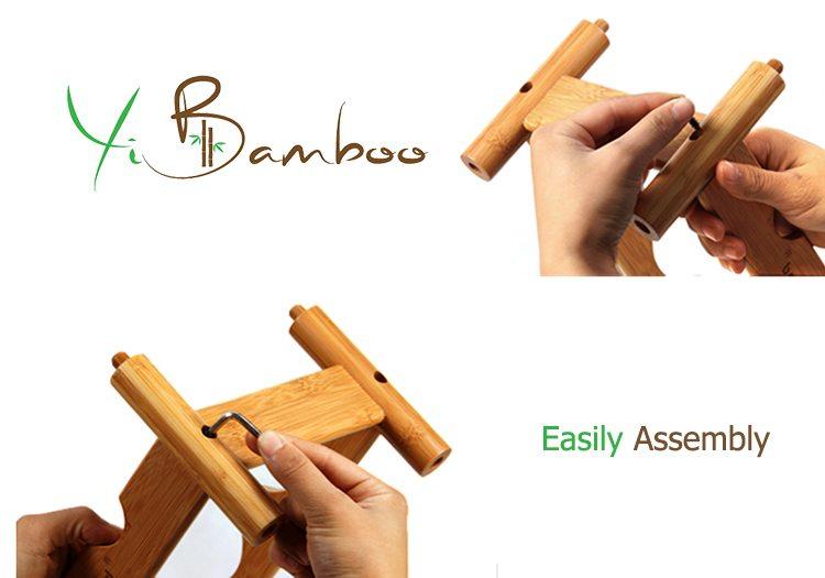 Stackable Bamboo Wine Rack