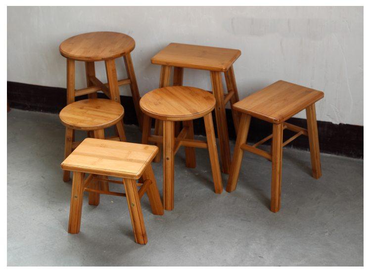 Product Bamboo Stools ~ Bamboo bar stool counter bathroom stools yi