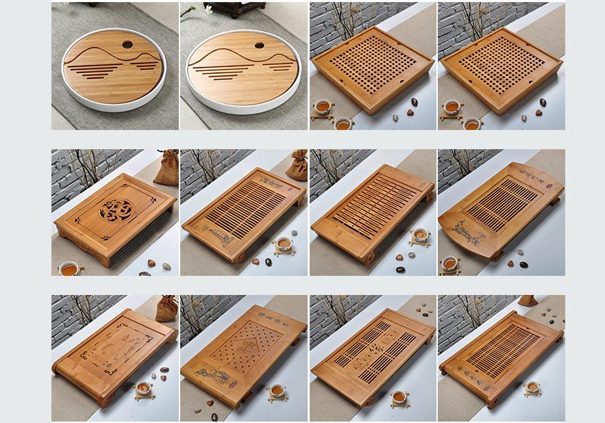 Bamboo Traditional Kungfu Tea Tray Serial (1)