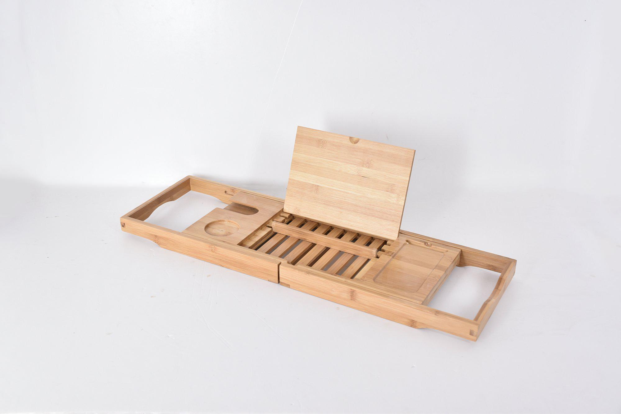 Bamboo wood bathtub caddy – Yi Bamboo| bamboo products