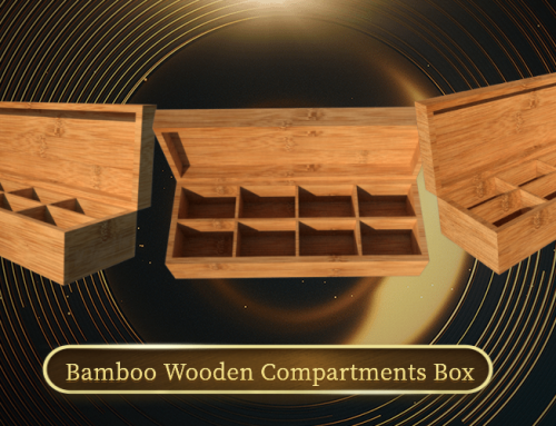 How to order a custom wooden compartment box?