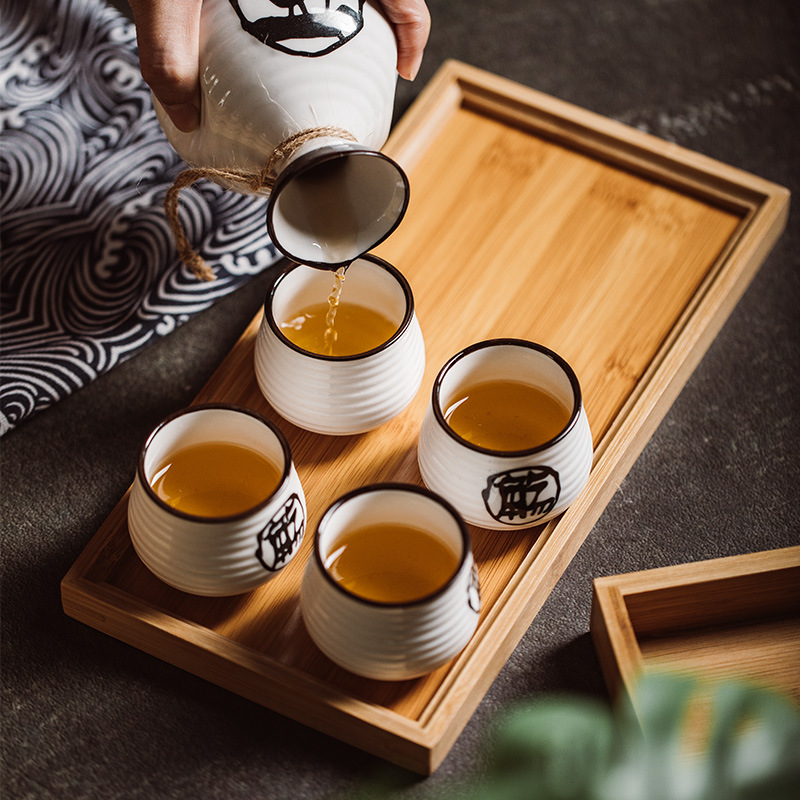 small bamboo trays