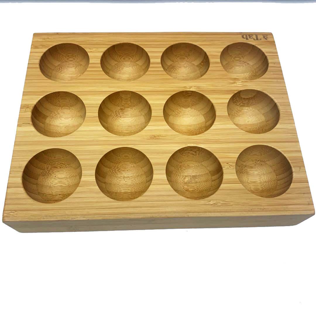 bamboo egg holder