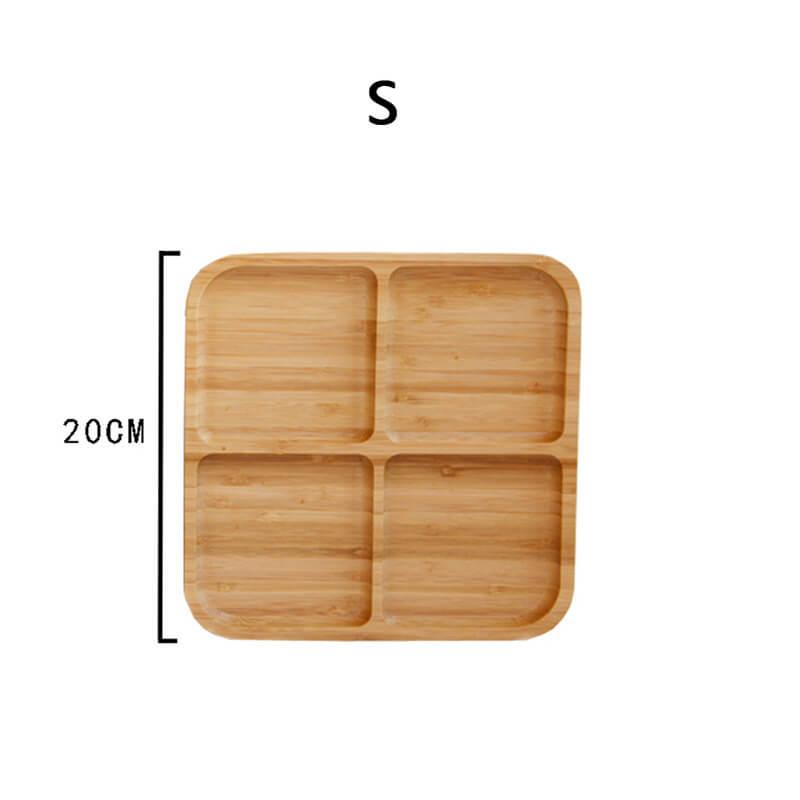 bamboo serving platter