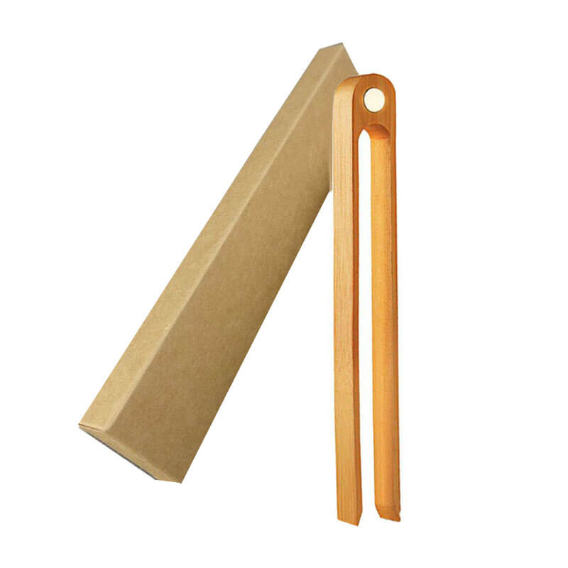 bamboo toaster tongs with magnet