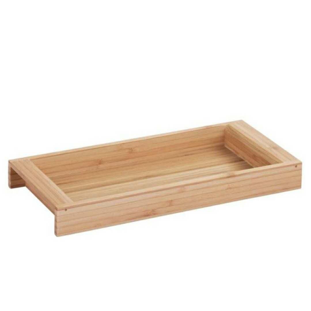 bamboo vanity tray