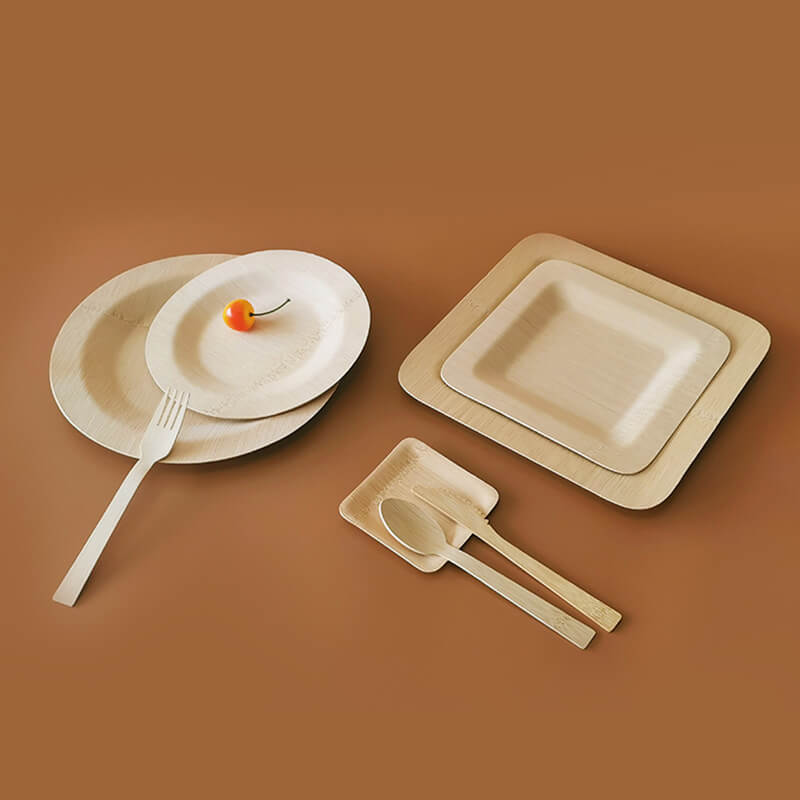 disposable bamboo trays